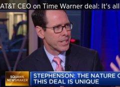 AT&T与时代华纳股价双双下挫:美国大宗并购审查严